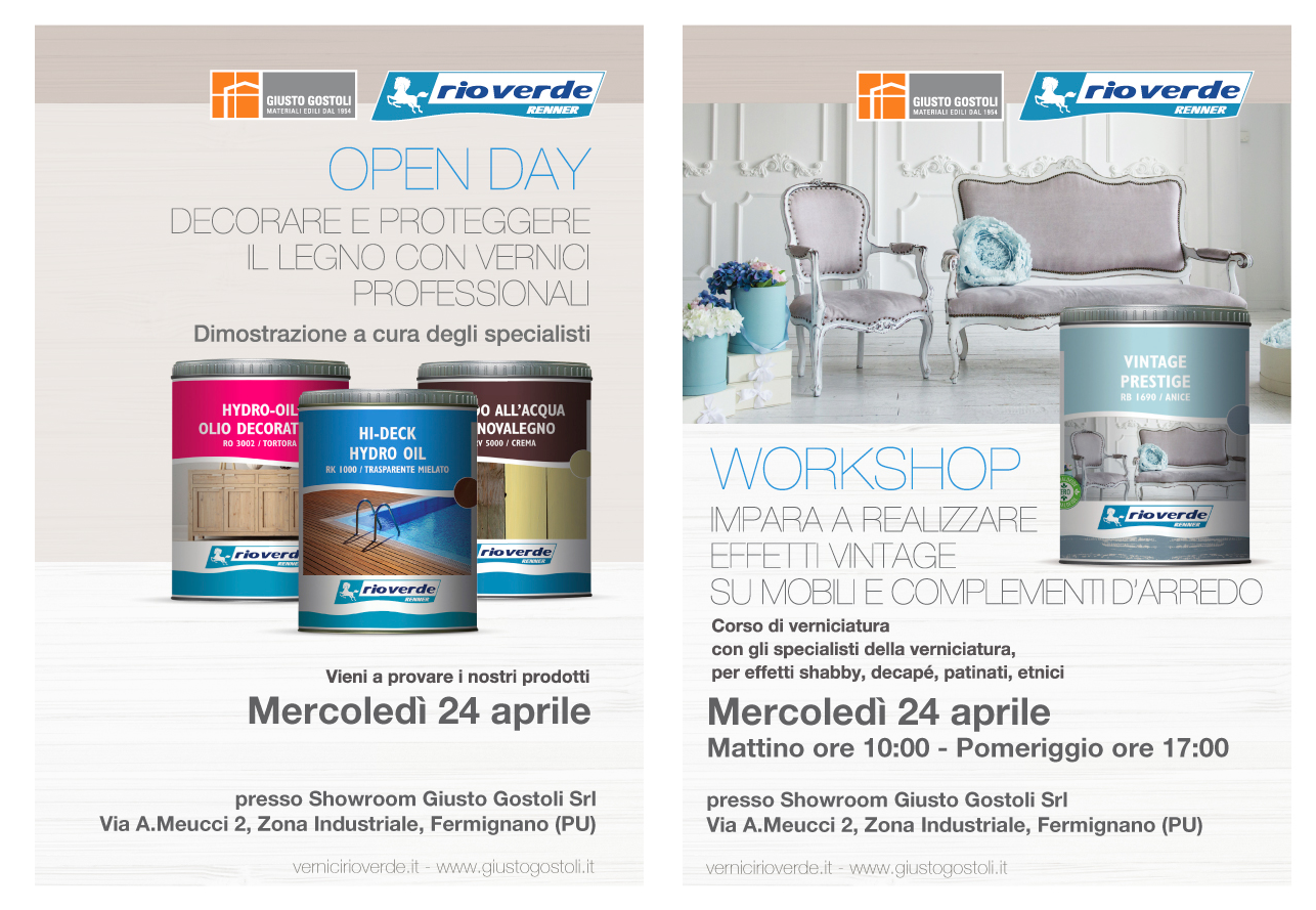 giustogostoli rioverde open day workshop